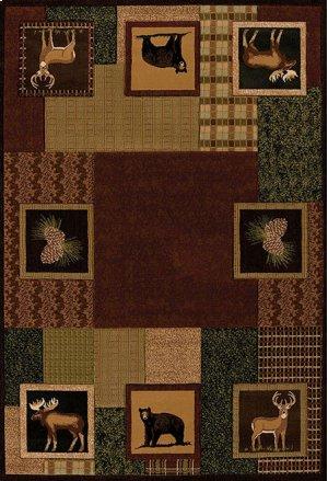 Contours/donna Sharp Corbin Square Toffee Rugs