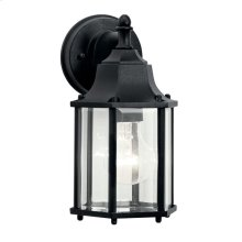 "Chesapeake 10.25"" 1 Light Wall Light Black"