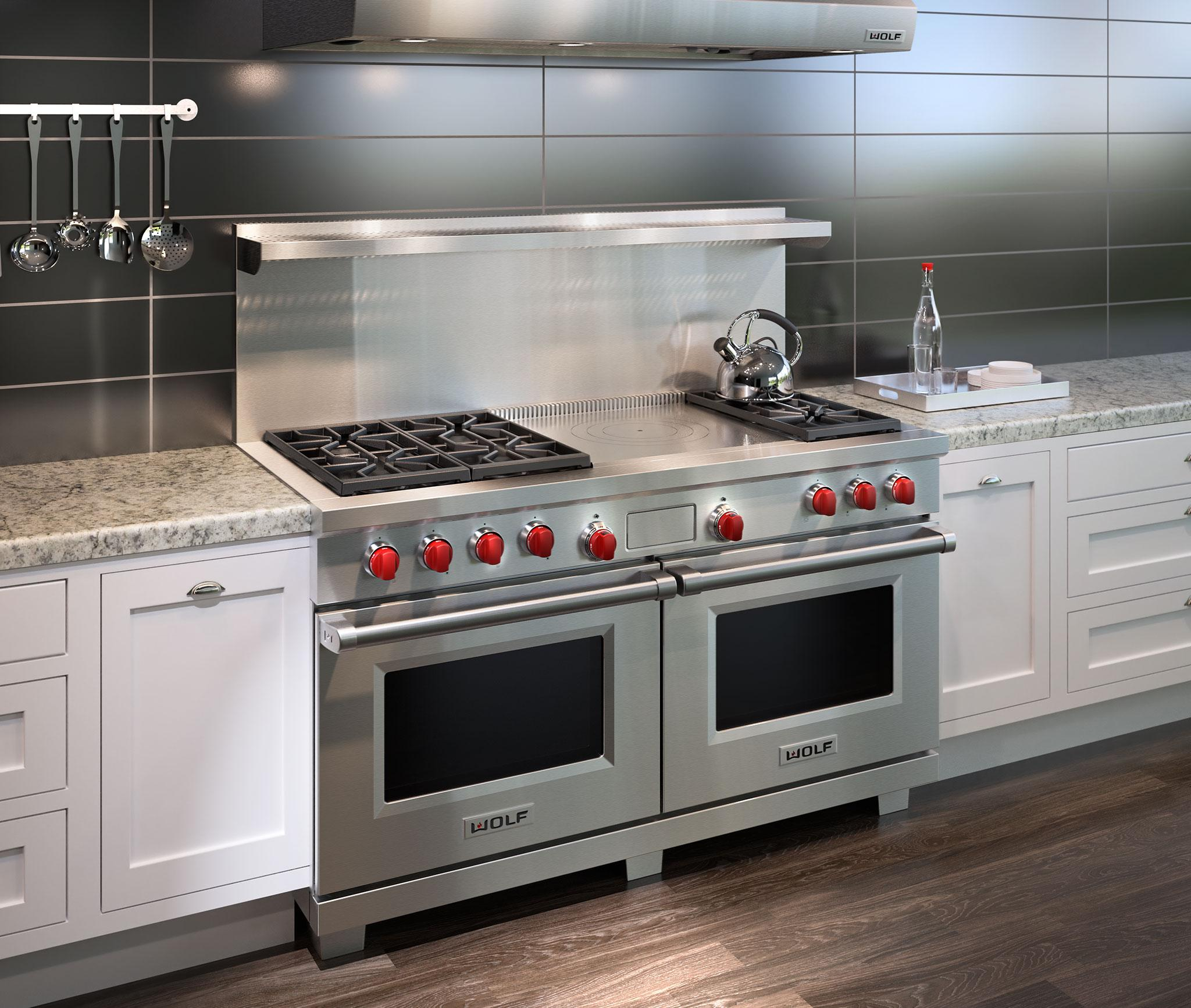 Wolf 60 Quot Dual Fuel Range 6 Burners And French Top