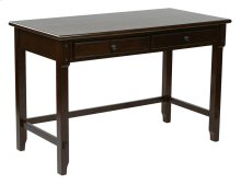 """Devonshire 47"""" Desk In Cabinet Finish With Dual Storage Drawers & Solid Wood Legs"""
