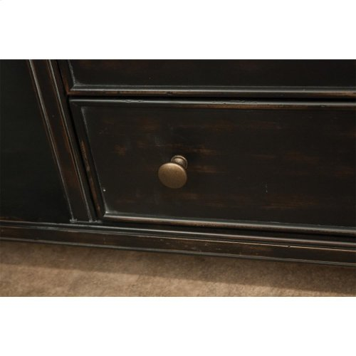 Alvaro - TV Console - Sable Finish