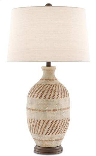 Faiyum Table Lamp - 30.5h