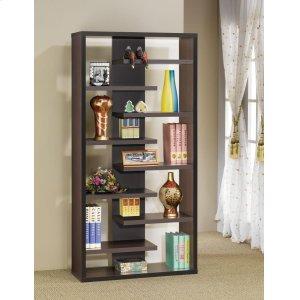 CoasterCasual Dark Cappuccino Bookcase