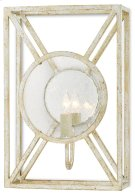 Beckmore Silver Wall Sconce Product Image