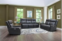 Loveseat Dual Rec Pwr With Usb & Power Headrest