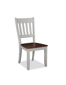 Small Space Slat Back Side Chair