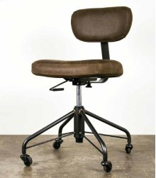 Rand office chair  umber leather