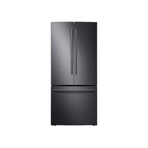 Samsung22 cu. ft. French Door Refrigerator in Black Stainless Steel
