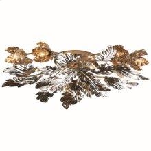 Dancing Leaves Ceiling Fixture-Nickel