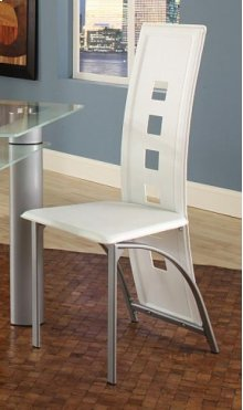 Astro White Side Chair