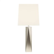 Facet Column Table Lamp