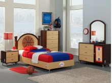 NBA Basketball Bedroom