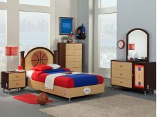 NBA Basketball Bedroom Product Image