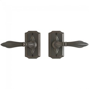 "Bordeaux Passage Set - 2 1/2"" x 4"" Bronze Dark Lustre"