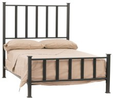 Mission Iron Queen Bed