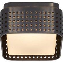 Visual Comfort KW4055BZ-CDG Kelly Wearstler Precision LED 5 inch Bronze Flush Mount Ceiling Light, Petite