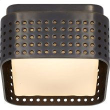Visual Comfort KW4055BZ-CDG Kelly Wearstler Precision LED 5 inch Bronze Flush Mount Ceiling Light, Petite