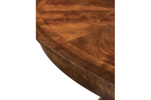 The Althorp Patent Jupe Table - Medium Sheen