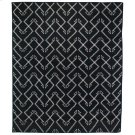 8'x10' Size Charcoal Patterned Rug Product Image