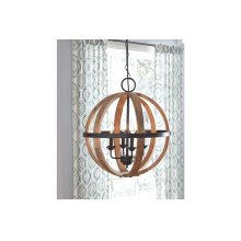 Wood Pendant Light (1/cn)