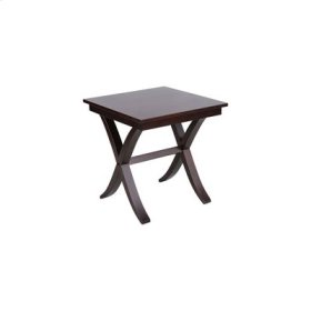 Sadler Dark Raisin Metroside Table