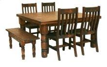 5'X5' Dining Table Medio Finish