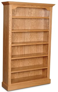 """Classic Tall Category III Bookcase, Classic Tall Category III Bookcase, 4-Adjustable Shelves, 40""""w Product Image"""