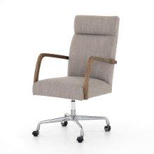 Savile Flannel Cover Bryson Channeled Desk Chair