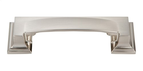 Sutton Place Cup Pull 3 Inch (c-c) - Brushed Nickel