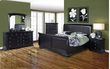 Maryhill 6/0 WK Sleigh Bed - TV Console