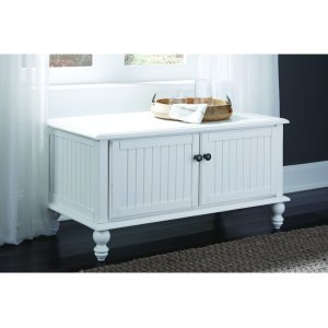 JOHN THOMAS FURNITUREBlanket Chest in Beach White