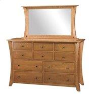 """Chandler 10 Drawer 66"""" Dresser Product Image"""