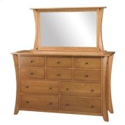 "Chandler 10 Drawer 66"" Dresser Product Image"