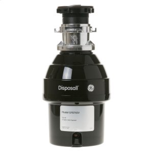 GE®3/4 HP Batch Feed Garbage Disposer Non-Corded