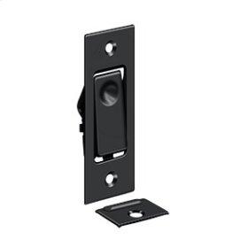 Pocket Door Bolts, Jamb bolt - Paint Black
