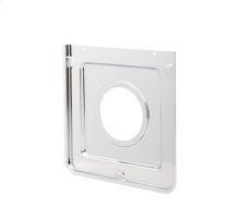 Smart Choice Square Chrome Burner Pan, Fits Specific