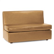 Slipper Loveseat Avanti Bronze Product Image