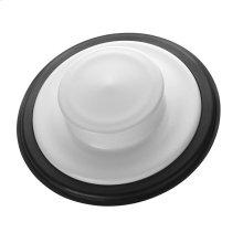 Sink Stopper - White