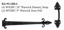 WARWICK DESIGN GARAGE DOOR KIT