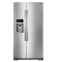 27 cu. ft. Side-by-Side Refrigerator with a 10-year limited parts compressor warranty
