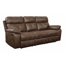 Damiano Transitional Brown Motion Sofa