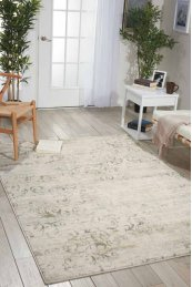 Euphoria Eup01 Bone Rectangle Rug 3'11'' X 5'11''