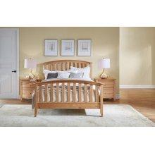 Cal. King Slat Bed