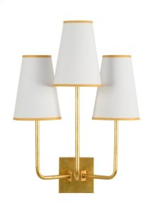 Wrightsville Sconce - Gold