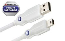 Digital Life High Performance Mini USB Cables - High Speed - 0.5 feet