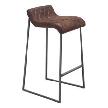 Father Barstool Vintage Brown