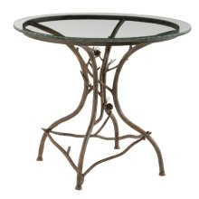 Pine Iron Ice Cream Table