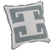 "Decorative Pillows Double Greek Key (21"" x 21"") Product Image"