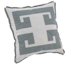 "Decorative Pillows Double Greek Key (21"" x 21"")"