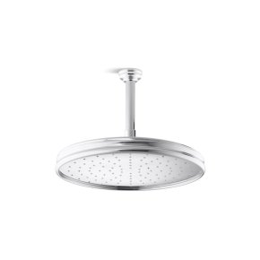 Air-Induction Large Traditional Raindome - Brushed Nickel